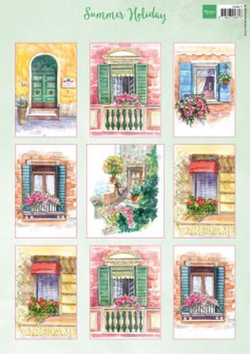 Marianne Design Decoupage Summer Holiday A4