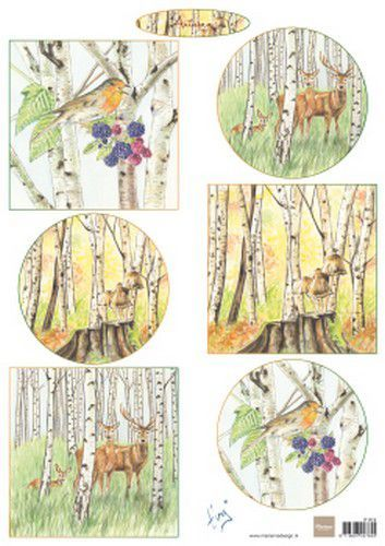 Marianne Design Decoupage Tiny's Autumn A4