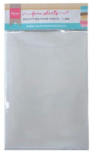 Marianne Design Die cutting foam sheet A5 - 1 mm 5st zelfklevend dz  150x260x9 mm