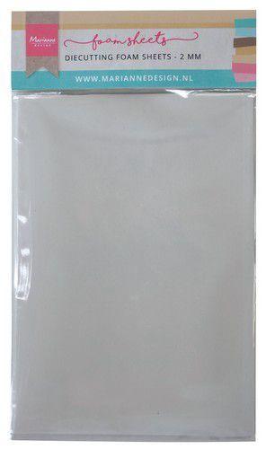 Marianne Design Die cutting foam sheet A5 - 2 mm 5st zelfklevend dz  150x260x9 mm