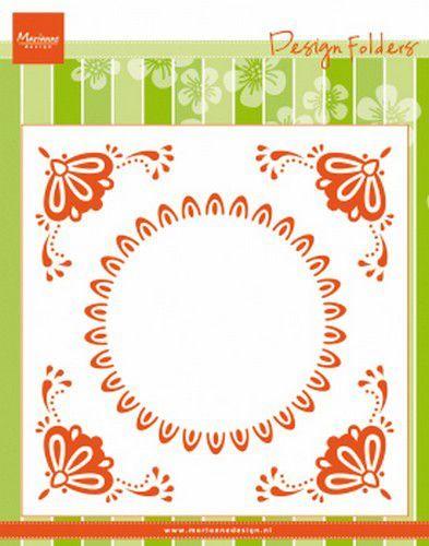 Marianne Design Embossing folder Hollandse tegel 152x154mm