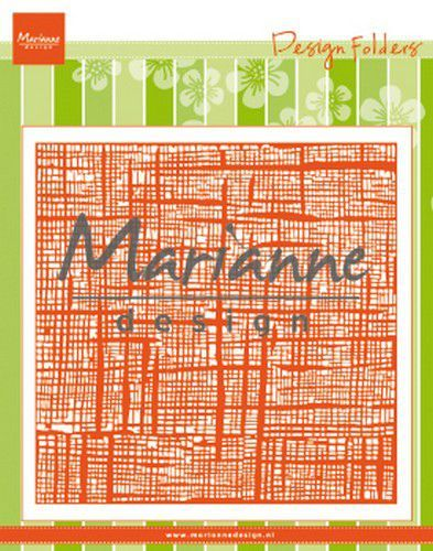 Marianne Design Embossing folder Linnen 152x154 mm