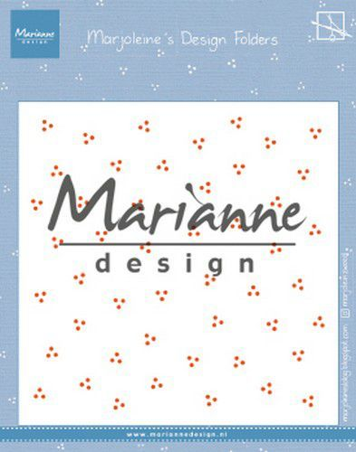 Marianne Design Embossing folder Marjoleine's dots 152x154mm