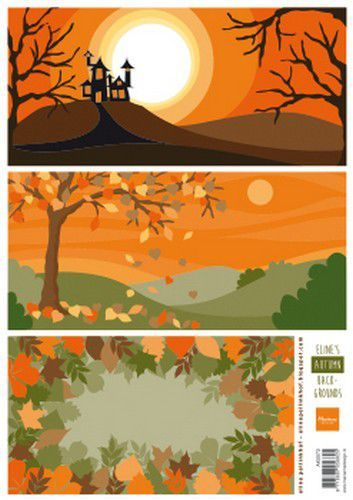 Marianne Design Knipvellen Eline's Autumn Backgrounds A4 3