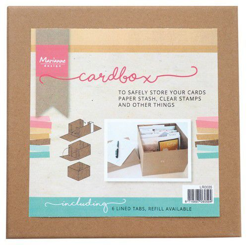 Marianne Design Tools Cardbox  225 x 225 x 30mm