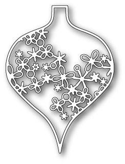 Memorybox Mika Ornament craft die
