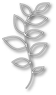 Craft Die Large Marianna Vine Outline