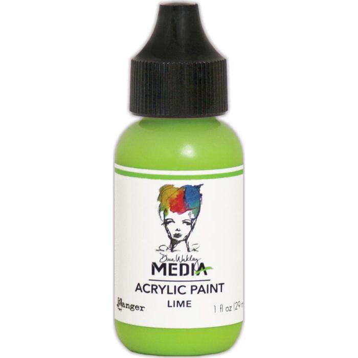 Dina Wakley Media Acrylic Paint 1oz Lime