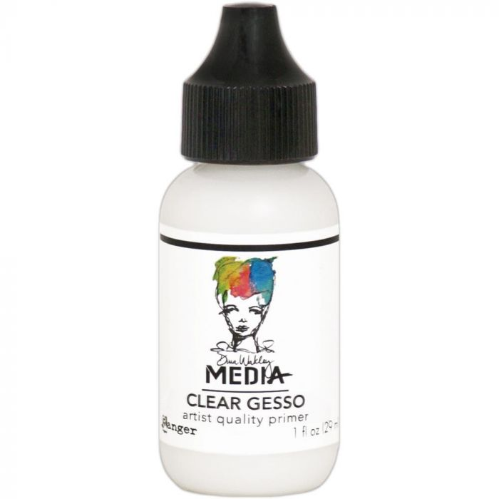 Dina Wakley Media Gesso Clear 1oz