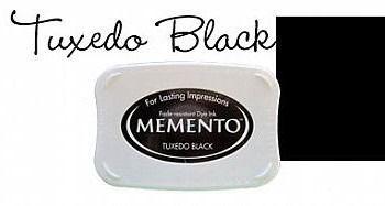 Inkpad Memento Tuxedo black