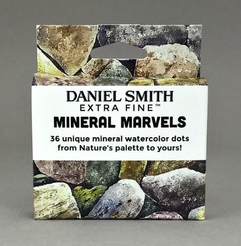 DANIEL SMITH Mineral Marvels Dot Card Set