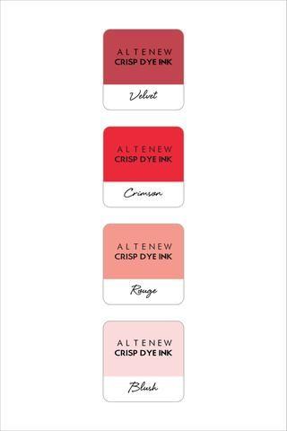 Altenew Red Sunset Mini Cube Set