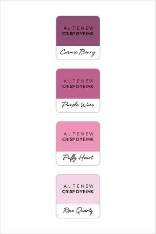 Altenew Rose Petal Mini Cube Set