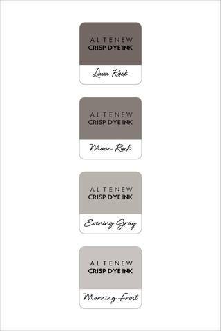 Altenew Warm Gray Mini Cube Set