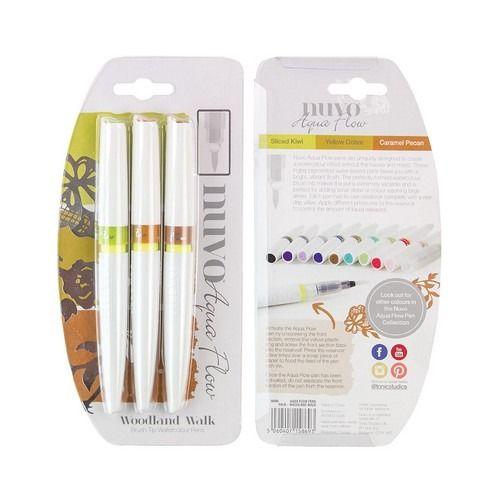 Nuvo Aqua flow pens - woodland walk
