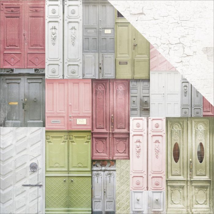 Cottage Rose Double-Sided Cardstock 12