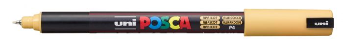 Posca Marker met gekalibreerde punt extra-fijn Abrikoos