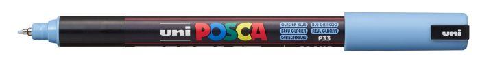 Posca Marker met gekalibreerde punt extra-fijn Ijsblauw