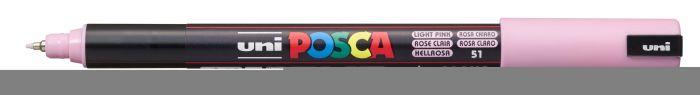 Posca Marker met gekalibreerde punt extra-fijn Licht Roze