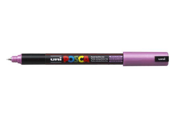 Marker met gekalibreerde punt extra-fijn Metallic roze M13