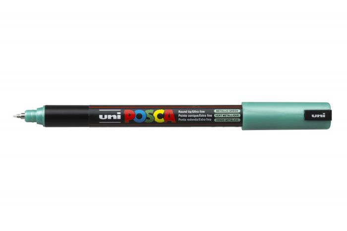 Marker met gekalibreerde punt extra-fijn Metallic groen M6