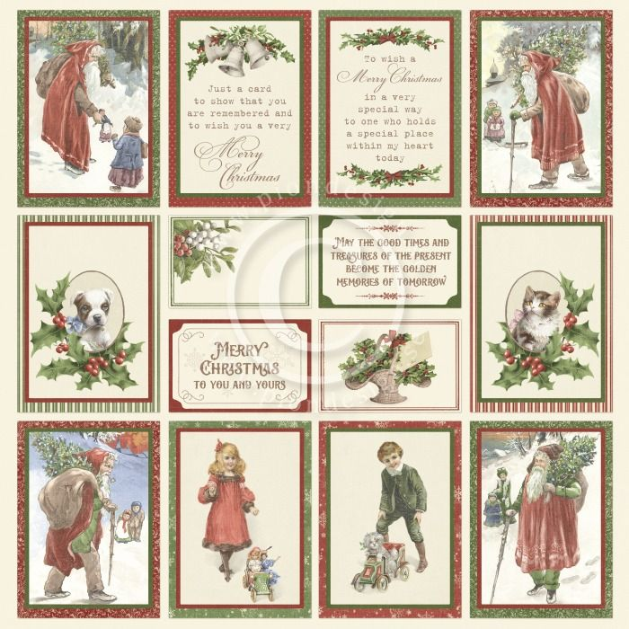 Pion Design - A Christmas to Remember  II - Images from the Past