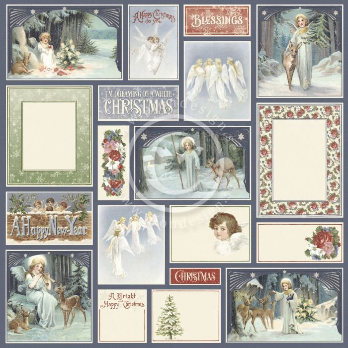Pion Design - A Christmas to Remember Angels all around