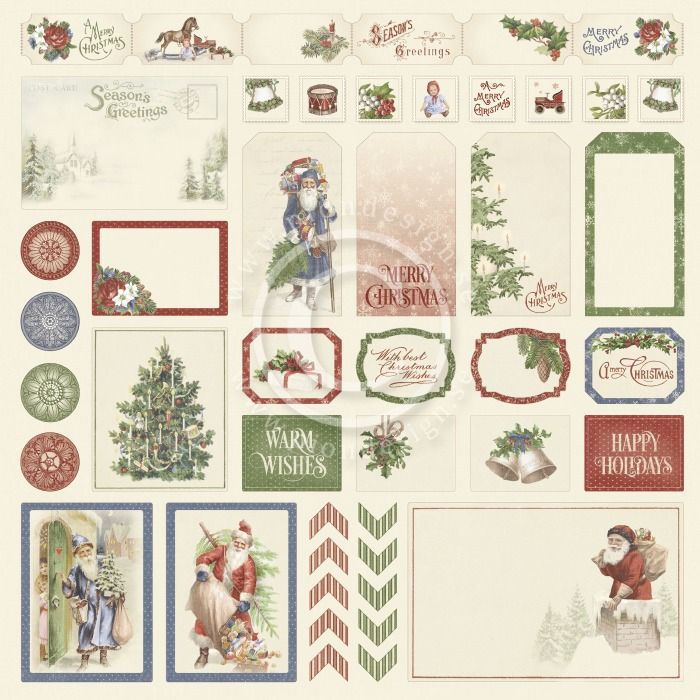 Pion Design - A Christmas to Remember Cut outs I