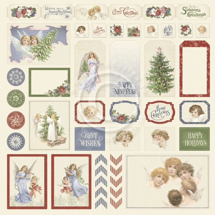 Pion Design - A Christmas to Remember Cut outs II