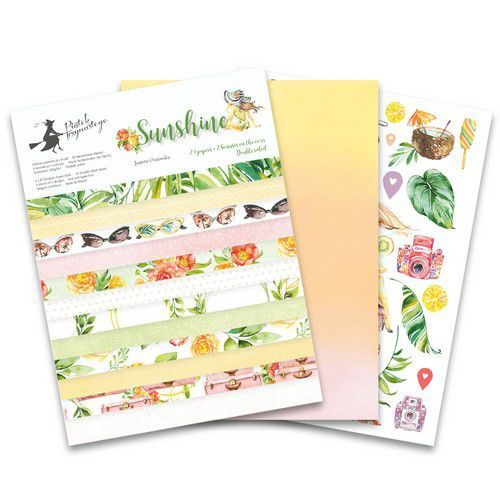 Piatek13 - Paper pad Sunshine 6x8 Sunshine 6x8