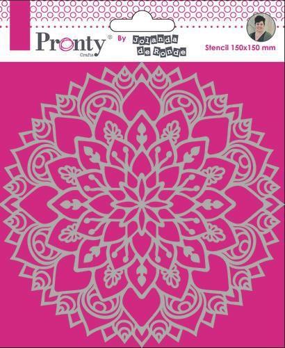 Pronty Mask Mandala 3 15x15 by Jolanda