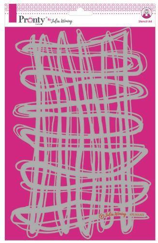 Pronty Stencil A4 String A4 Julia Woning
