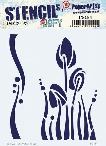 PaperArtsy PA Stencil 184 {JOFY}