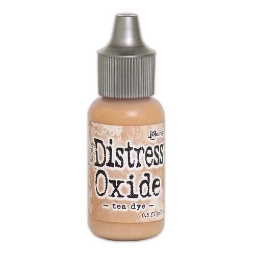 Tim Holtz Distress Oxide ReInker 14 ml Tea Dye