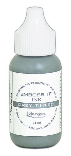 Ranger Emboss-It Ink Grey 1 oz Reinker
