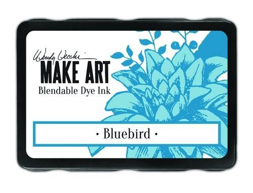 Ranger MAKE ART Dye Ink Pad Wendy Vecchi  Bluebird