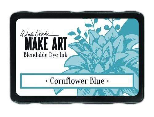 Ranger MAKE ART Dye Ink Pad Wendy Vecchi  Cornflower Blue