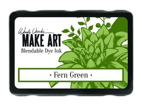 Ranger MAKE ART Dye Ink Pad Wendy Vecchi  Fern Green