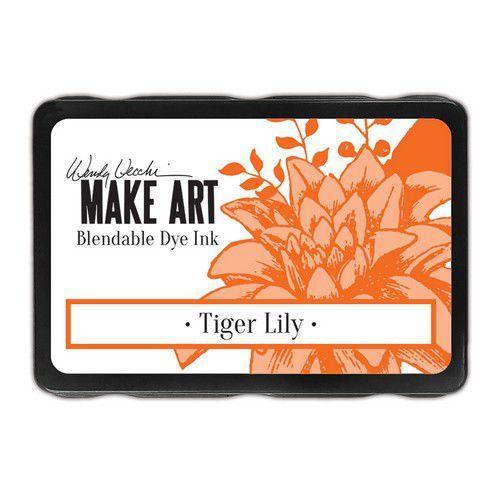 Ranger MAKE ART Dye Ink Pad Tiger Lily Wendy Vecchi