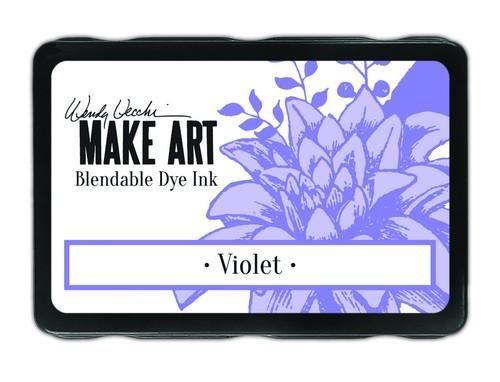 Ranger MAKE ART Dye Ink Pad Wendy Vecchi  Violet