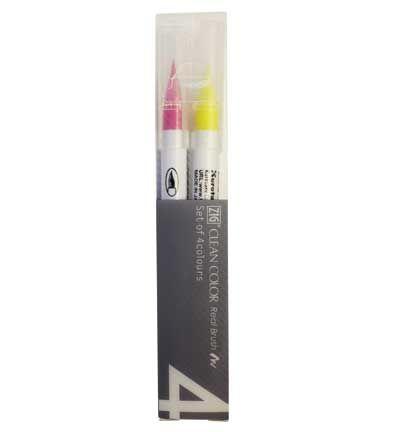 ZIG Clean colors sets pop colours 4 pcs
