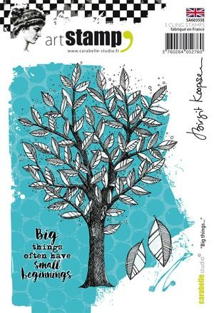 Carabelle Cling Stamp A6 Big things by B. Koopsen