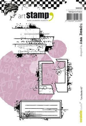 Carabelle Cling Stamp A6 Les Basiks #2 by Ana Bondu