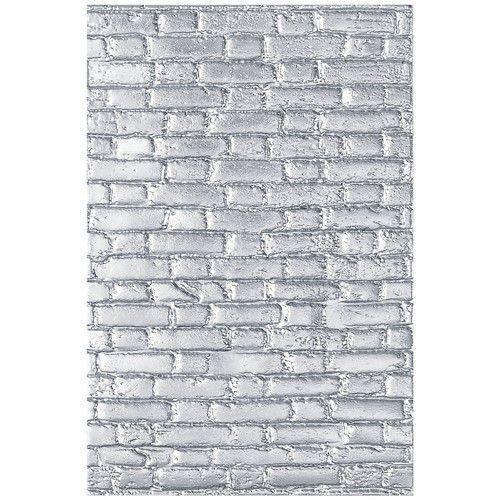 Sizzix - 3-D Texture Fades Embossing Folder Brickwork Tim Holtz