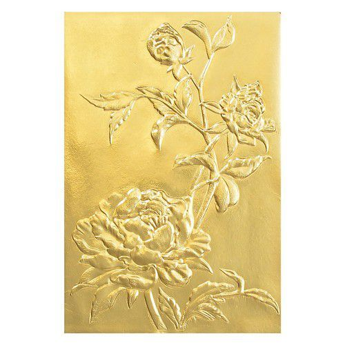 Sizzix 3-D Texture Fades Embossing Folder - Roses  Tim Holtz