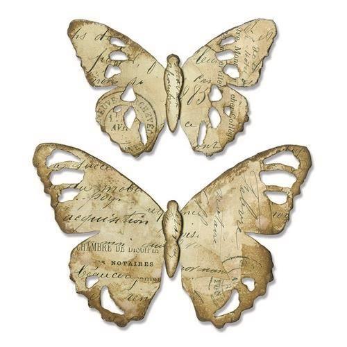 Sizzix Bigz Die - Tattered Butterfly Tim Holtz