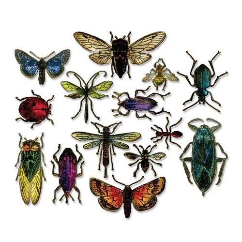 Sizzix Framelits Die Set 14PK Entomology