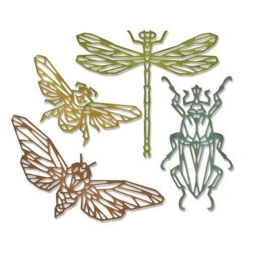 Sizzix Thinlits Die Set - 4PK Geo Insects Tim Holtz