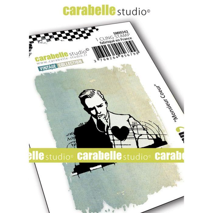 Carabelle Studio Cling stamp monsieur coeur