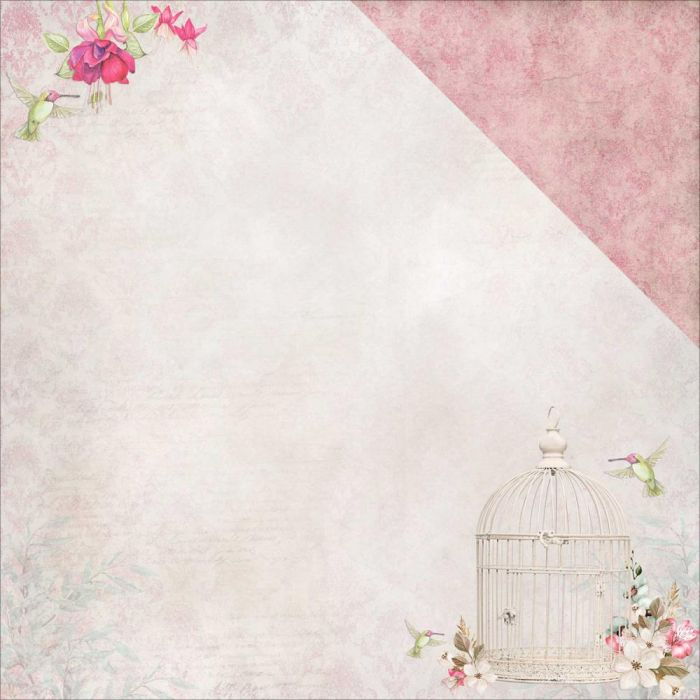 Scents Of Nature Double-Sided Cardstock Paradise